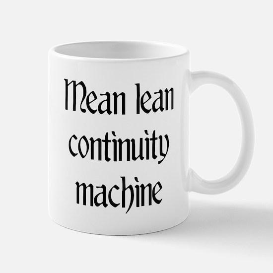 Mean lean continuity machine Mug