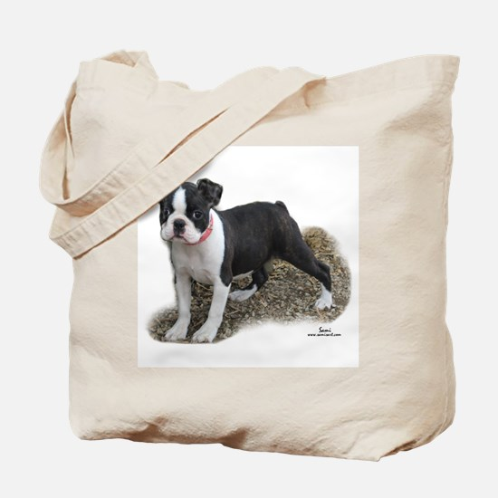 Boston Terrier Pup 1 Tote Bag