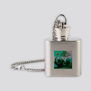 Without God Flask Necklace