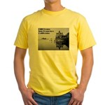 SF Cliff House Yellow T-Shirt