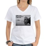 SF Cliff House Women's V-Neck T-Shirt