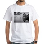 SF Cliff House White T-Shirt