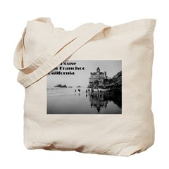 SF Cliff House Tote Bag
