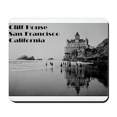 SF Cliff House Mousepad
