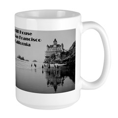 SF Cliff House Large Mug