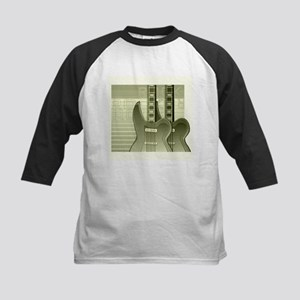 Guitar Kids Baseball Jersey