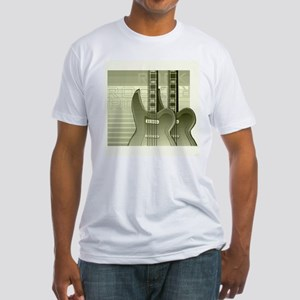 Guitar Fitted T-Shirt
