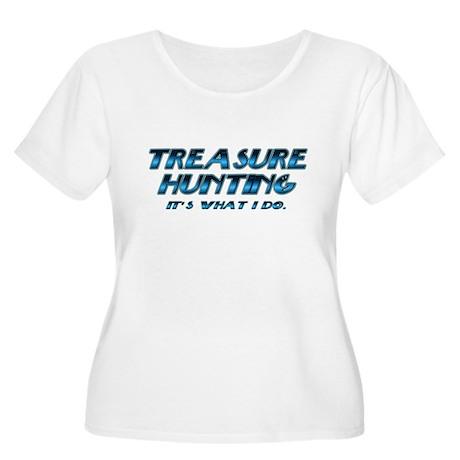 Treasure Hunter Women's Plus Size Scoop Neck T-Shi