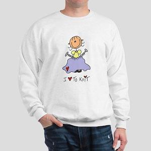 I Love to Knit! Sweatshirt