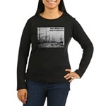The Wharves Women's Long Sleeve Dark T-Shirt