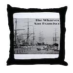 The Wharves Throw Pillow