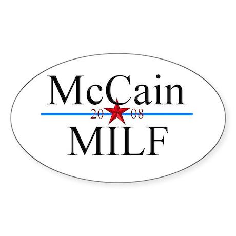 Mccain milf 08 bumper stickert