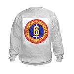 SIXTH MARINE DIVISION Kids Sweatshirt