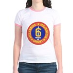 SIXTH MARINE DIVISION Jr. Ringer T-Shirt