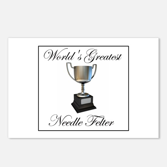 World's Greatest Needle Felte Postcards (Package o