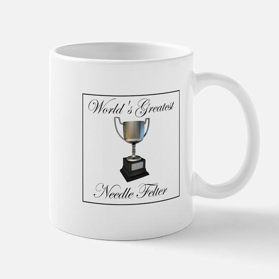 World's Greatest Needle Felte Mug
