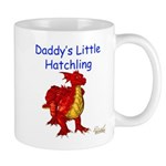 Daddy's Little Hatchling Mug