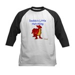 Daddy's Little Hatchling Kids Baseball Jersey