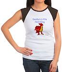 Daddy's Little Hatchling Women's Cap Sleeve T-Shir