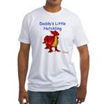 Daddy's Little Hatchling Fitted T-Shirt