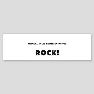 Medical Secretaries ROCK Bumper Sticker