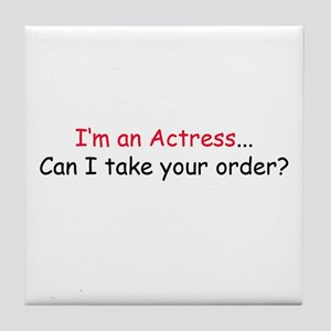 Acting Tile Coaster