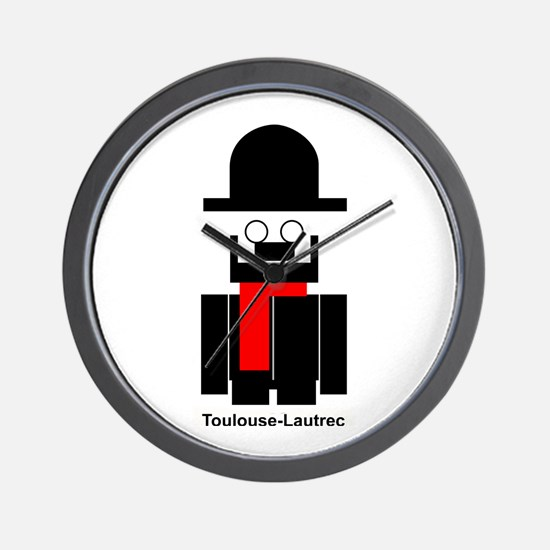 Funny Toulouse Wall Clock