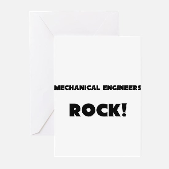 Mechanicians ROCK Greeting Cards (Pk of 10)