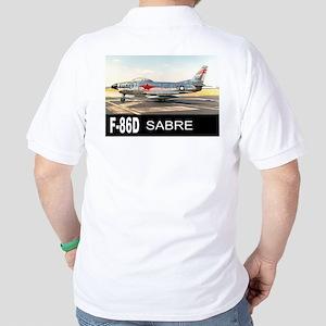 F-86 SABRE INTERCEPTOR Golf Shirt