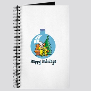 Stocking Knitter - Happy Holi Journal