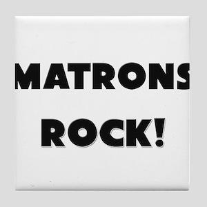 Matrons ROCK Tile Coaster