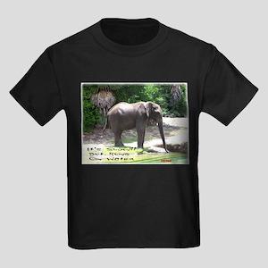 RUNS ON WATER Kids Dark T-Shirt