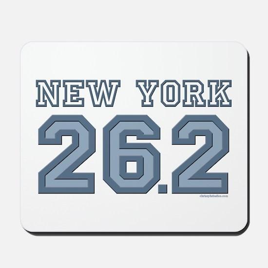 New York 26.2 Marathoner Mousepad