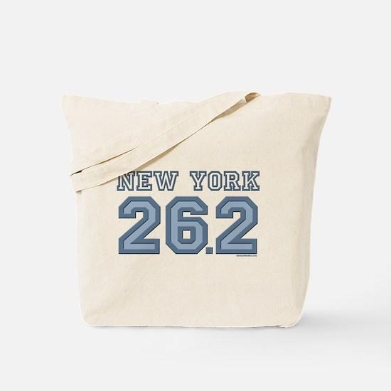 New York 26.2 Marathoner Tote Bag