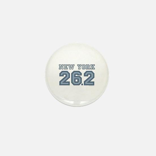 New York 26.2 Marathoner Mini Button