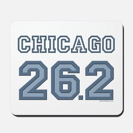 Chicago 26.2 Marathoner Mousepad