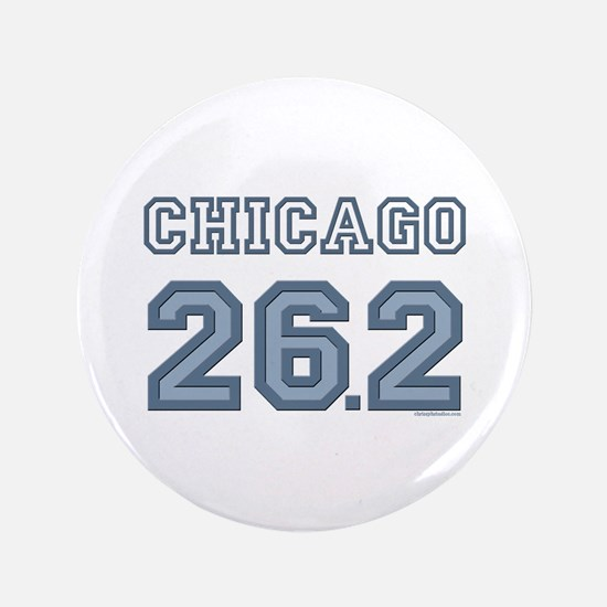 "Chicago 26.2 Marathoner 3.5"" Button (100 pack)"