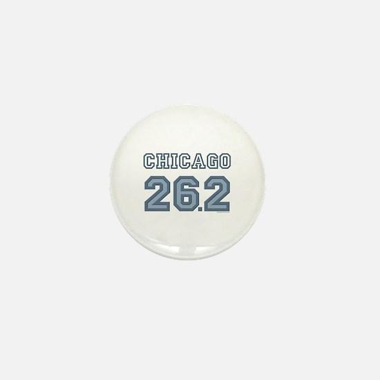 Chicago 26.2 Marathoner Mini Button