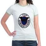 753rd AC&W RADAR SQUADRON Jr. Ringer T-Shirt