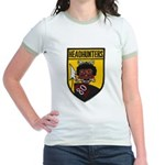 80TH TACTICAL FIGHTER SQUADRON Jr. Ringer T-Shirt