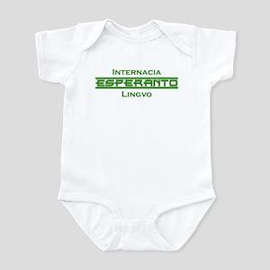 Esperanto Internacia Lingvo Infant Bodysuit
