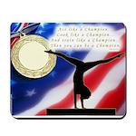 Gymnastics Mousepad - Champ