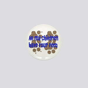 Four-Footed Children Mini Button