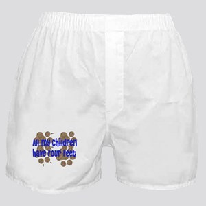 Four-Footed Children Boxer Shorts