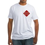 Railway Express Color Logo Fitted T-Shirt
