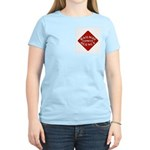 Railway Express Color Logo Women's Pink T-Shirt