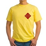 Railway Express Color Logo Yellow T-Shirt