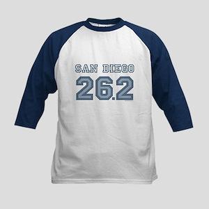 San Diego 26.2 Marathoner Kids Baseball Jersey