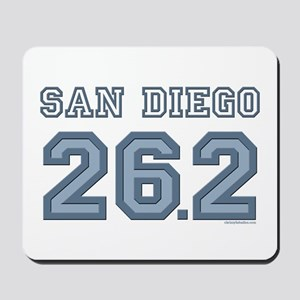 San Diego 26.2 Marathoner Mousepad