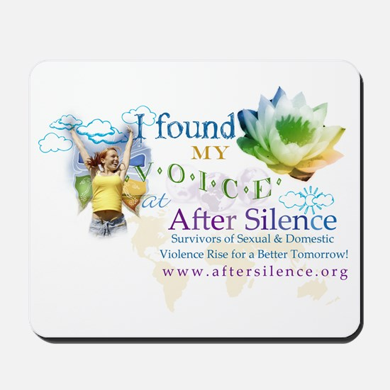 I Found My Voice Mousepad